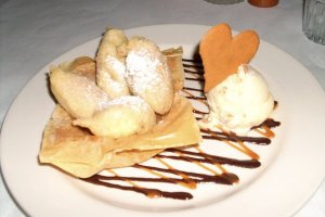 Banana Beignets at Cafe 30-A