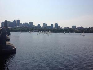 Charles River on my morning run!