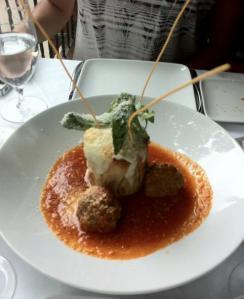 Meal at Bricco
