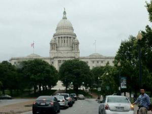 The Capitol Building in the day