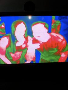 Alex and I via thermal imaging