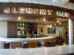 Alchemy Martini bar