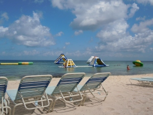 Paradise Beach in Cozumel, Mexico