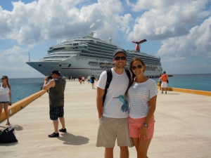 Before heading back to the Carnival Liberty