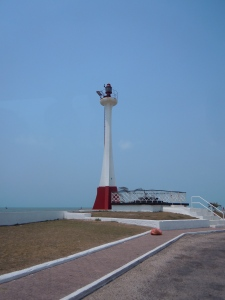 Lighthouse in Belize