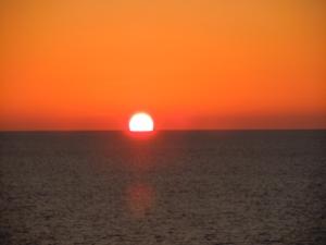 Finally, a gorgeous sunset
