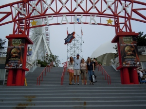 My family at Navy Pier