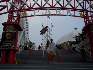 Alex and I at Navy Pier