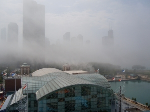 The fog: why we had to postpone our boat tour