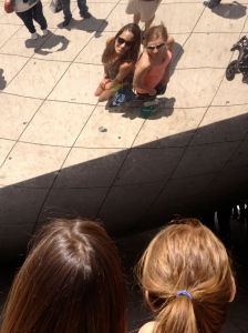 Photo fun at the Bean