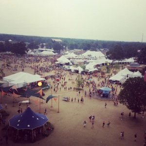 View from the Ferris Wheel of Centeroo