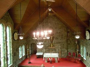 Inside the Chapel on the Rock