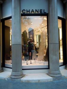 Chanel on the Passeig de Gracia