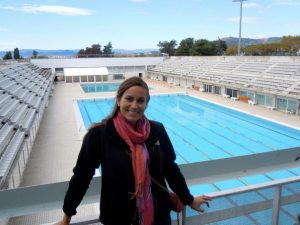 The pool from the 1992 Olympics