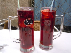 Crystal-sized sangrias