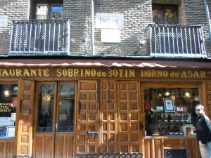 Botin, the oldest restaurant in the world