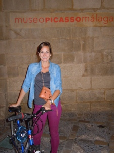 at the Picasso Museum