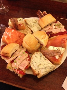 Sandwich platter (I frequently dream about this)
