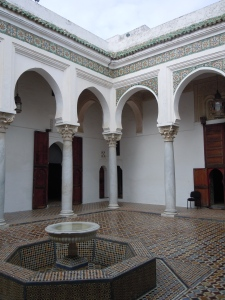 Courtyard in the Kasbah