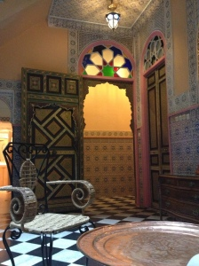 Entryway of our riad