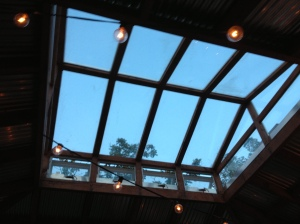 I love the skylight!