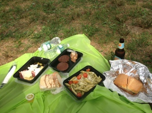 Our Pappardella picnic in Central Park
