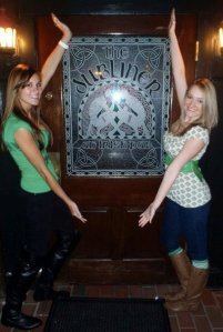 Meryl and I at The Dubliner in 2011
