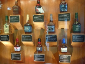 Famous past Maker's bottles