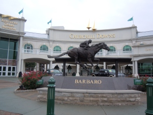 Statue of Barbaro at Churchill Downs
