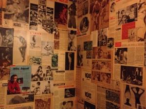 Bathroom decor at Le Diplomate