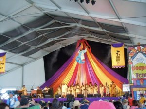 The Gospel Tent at JazzFest