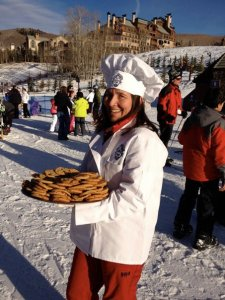 Cookies at the base of Beaver Creek