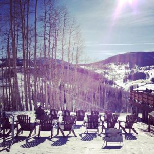 Gorgeous day in Vail