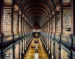Trinity College Library via beautifullibraries.com