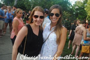 Emily and I at Chicago Summerfest in Lincoln Park
