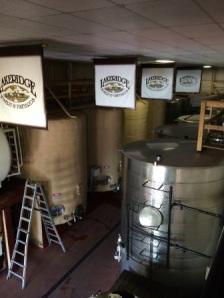 Production at Lakeridge Winery