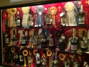 Lakeridge Winery's many awards