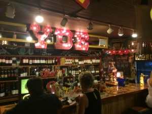 The bar at YDE