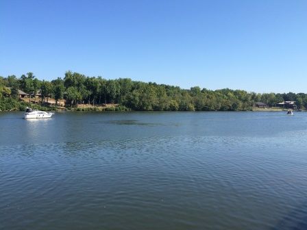 The Black Warrior River, seen from The Park at Manderson Landing