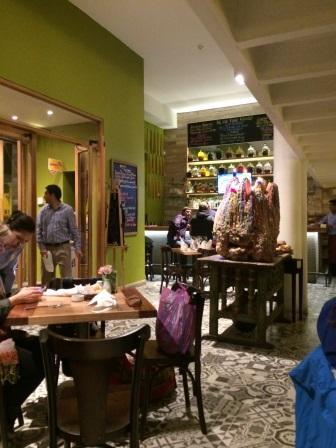Inside Inka Grill