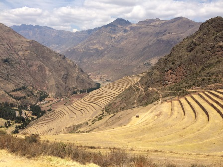 Architectural terraces at Pisac