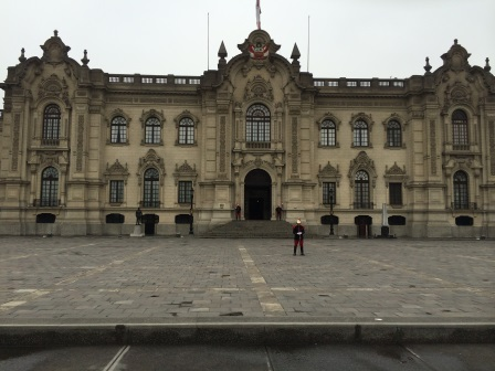 The Government Palace of Peru