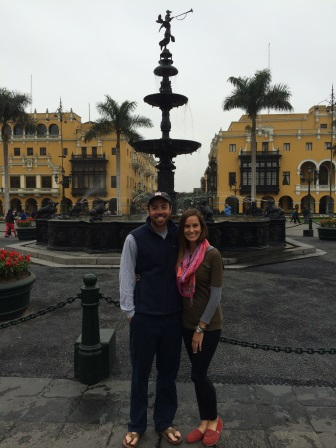 Alex and I in Plaza Mayor