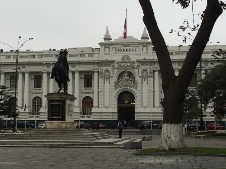 Also in Central Lima: Congress