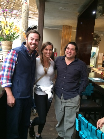 Meeting celebrity chef Gaston Acurio