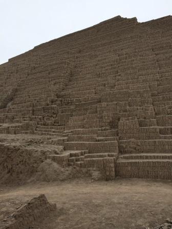 Inside Huaca Pucllana
