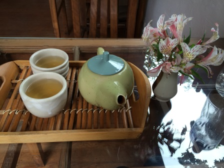 Tea at La Bodega Verde