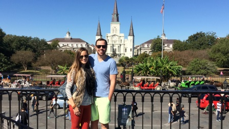 After eating our beignets near Jackson Square