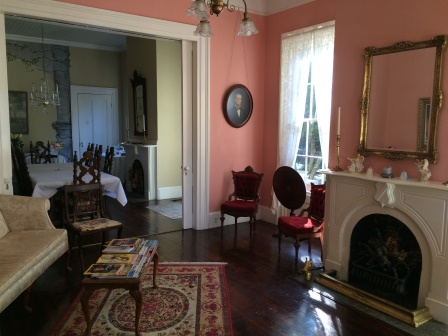 Sitting room, looking into the dining room