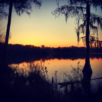 North Florida sunset